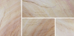 Grand Natural Sandstone - Caramel - Swatch