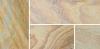 Smooth Natural Sandstone - Rainbow - Swatch
