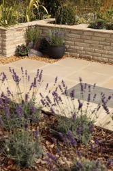 Natural Sandstone walling - Modac